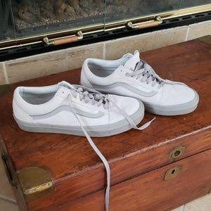 Van shoes laced shoes